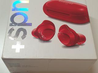 Samsung Galaxy Buds+ , Plus, красные, Б/У.