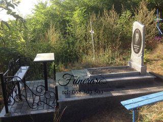 Compania funerare.md ofera monumente funerare din granit direct de la producator la preturi adecvate