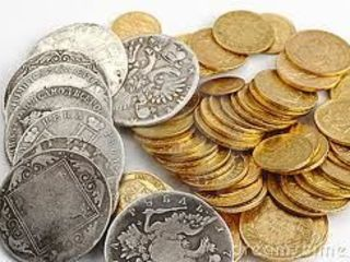 cumpar monede, insigne, medalii, ceasuri, vesela din argint, figurine, bijuterii din aur, argint.