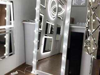 Зеркало с лед лампочками!