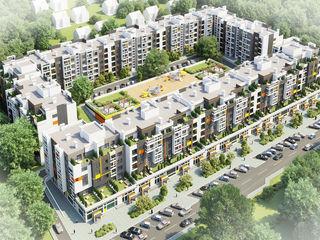 Apartament cu 2 camere cu living în Orhei (Dansicons)