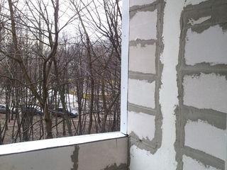 Ремонт балконы, расширение,удлинение кладка, вынос балкона, удлинение лоджий, остекление пвх