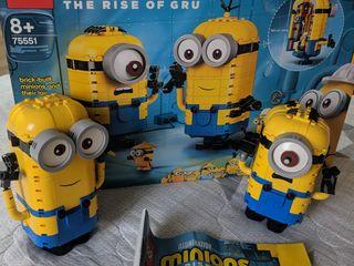 Lego Minions Миньоны, дом Миньонов