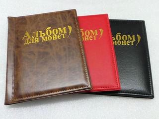 Альбомы для монет. Большие и маленькие. Альбомные листы для монет.