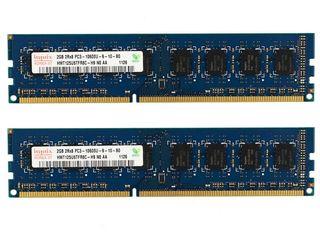 Продам планки по 2 и 4гб DDR3 для компа и планки по 2гб DDR2 для ноута