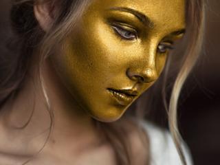 Инновационная маска для подтяжки лица Cledbel Ultra Lift 24k gold