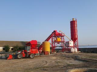 Бетонный завод 60м3 в час новый