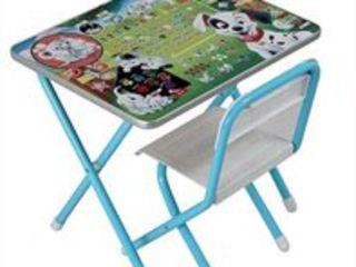 Столы, стулья, доски для детей младшего школьного возраста. Доставка по всей Молдове.