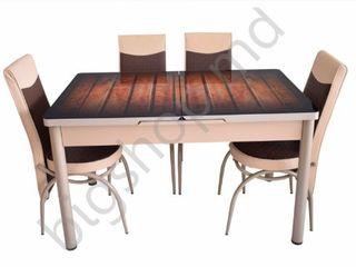 Set mg-plus kelebek 2 151 (masa + 6 scaune) în credit,reducere,livrare gratis !