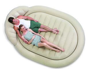 Надувная двуспальная кровать оригинального дизайна Bestway,67397