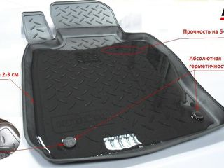 Calitativ covorase аuto  ковры в багажник, коврики для салона полиуретановые Norplast