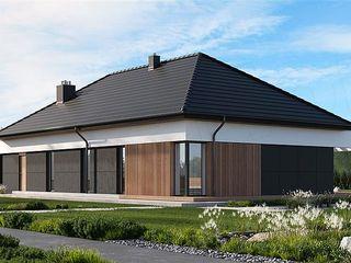 Современный большой дом с гаражом