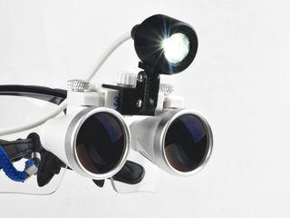 Лупы бинокулярные налобные х3,5-420/LED