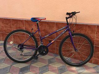 Bicicleta din Germany roti la 26 recent aduse  Sunt in stare noua  Bicicleta albastra 80€ Bicicleta