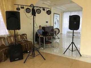 DJ la petreceri +Lumini show +Fum