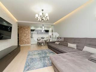 Design modern! 2 camere+living, reparație euro/mobilat, garaj subteran+debara. buiucani - gonvaro!