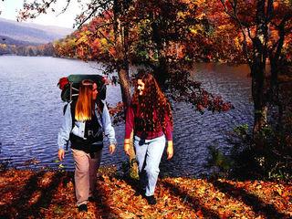Осенний поход вслепую