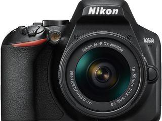 Фотоаппарат зеркальный Nikon D3500 kit AF-P 18-55VR black