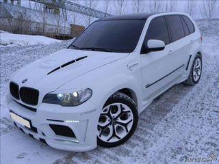 Реснички на фары BMW X5 X6 e70 e71