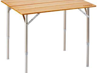 GERMANY Набор Bamboo Folding Table + 2 стула Pinguin х 140 кг !!!