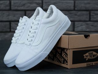 Vans Old Skool All White Unisex