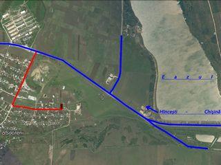 Teren pentru constructie, gaz, apa, asfaltat, regiune noua.