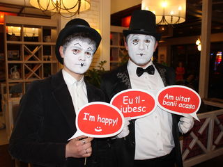 Actori de Mimă și Pantomimă! Mimi-Actori pentru nunta ta sau alte evenimente!