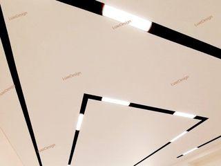 Натяжные потолки luxedesign tavane extensibile/ парящие потолки, световые линии на потолке
