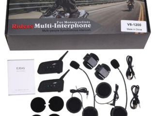 Мото-гарнитура Vnetphone V6 1200M intercom / Новый !