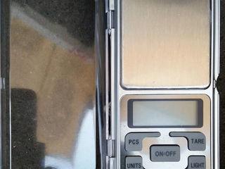 Ювелирные весы 500 грамм новые, 0.1 гр Cintar electronic nou 500gr