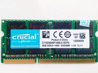 8Gb DDR3 1600MHz Sodimm