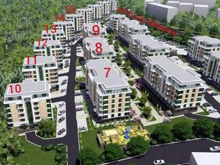 Apartament spațios la super preț! 3 odăi - 81,4m2, variantă albă! Bloc nou, sec. Buiucani