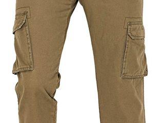 Мужские утепленные брюки-карго Rahan