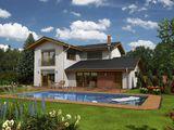 Casa din cotilet, doar acum proiect individual gratuit, garantie 30 ani, termoizolare superioara.