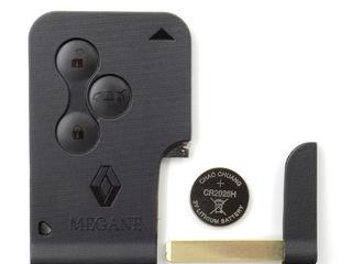 Ключи и корпуса для Renault, Dacia.