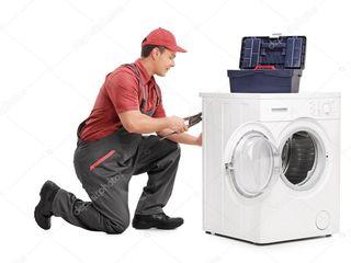 Reparatie profesionala a masinilor de spalat . Ne deplasam la domiciliu.  Chemare gratuita.
