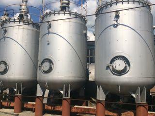 Реакторы, термозбраживатели  эмалированные с рубашкой и мешалкой для винодельческой и пищевой индуст