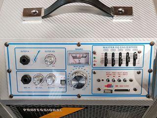 Колонка активная. Мощная - 120 Watt. Bluetooth/USB/Radio. Новая!