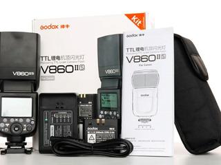 Вспышка для sony Godox V860IIs,cage for sony A7III,A7II,A7SII,A7RII,sony A6500,A6400,A6300,A6000