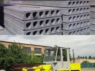 Schimb panouri cu goluri, blocuri, beton pe Incarcator Frontal