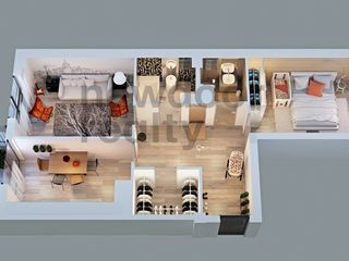 "Apartament  2 odai  68m2 ""Alba Iulia Residence"" Astercon  !!! 690 euro/m2"