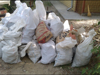Вывoз строительный мусор.Evacuarea gunoiului + Hamali.