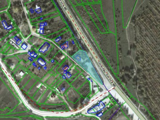 Vinzare - teren pentru constructie - s. Gornoe. id 2059