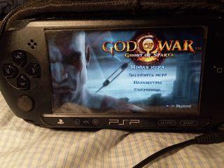 Продам PSP в хорошем состоянии плюс чехол плюс куча игр - 950 лей