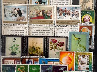 Почтовые марки 1000 шт. из разных стран. Timbre 1000 buc.