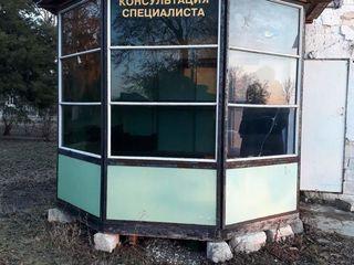 срочно!продается ларек для торговли,размером 3м на 2м,переносной,окна тонированные от света-триплекс