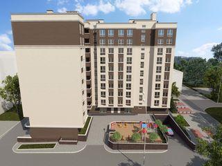 Astercon Grup-sect.Buiucani, apartament cu 1 odaie, 41.55 m2, prețul 710 €/m2