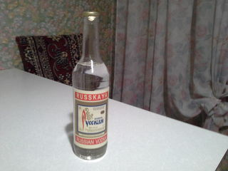 Водка русская. 1997, 1998 года.