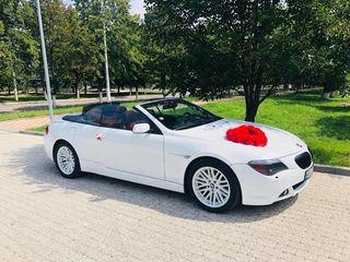BMW M6 Cabriolet транспорт для торжеств transport pentru ceremonie