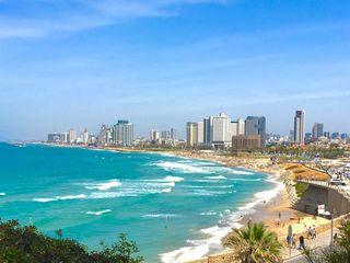 Israel, Netanya, odihnă la Marea Mediterană